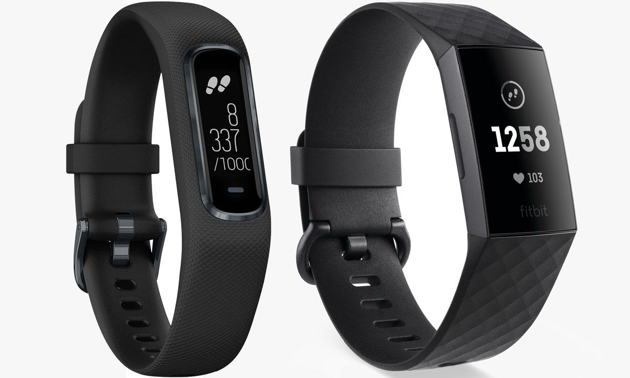 Garmin Vivosmart 4 vs Fitbit Charge 3: activity trackers put