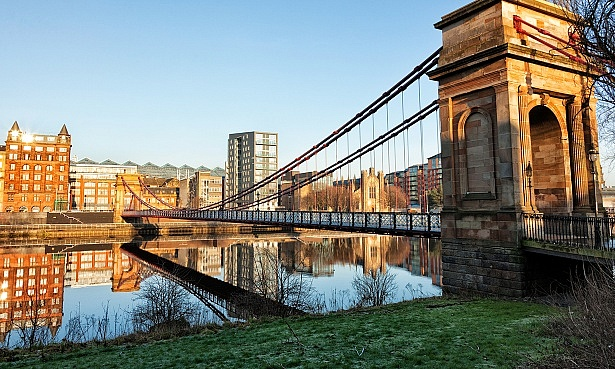 Bridge in Glasgow