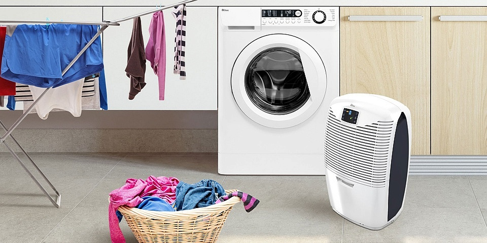 Are dehumidifiers good for drying clothes?