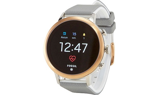 2fbc32f9239e The Fossil Q Venture HR is an updated version of the Fossil Q Venture