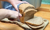 Slicing bread