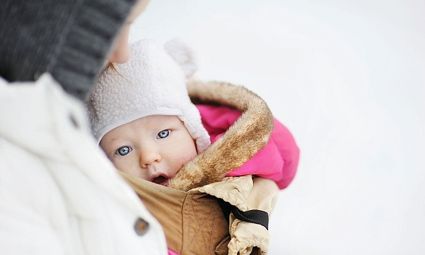 baby carrier winter