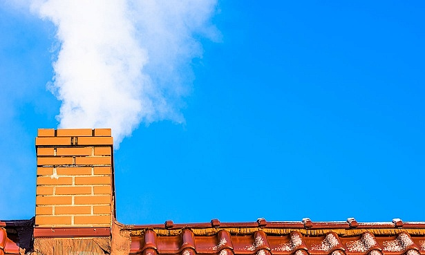 Chimney smoking