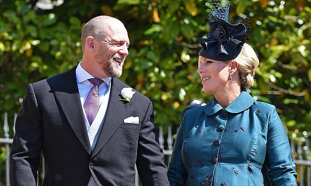 Zara Tindall, Mike Tindall at royal wedding Meghan and Harry