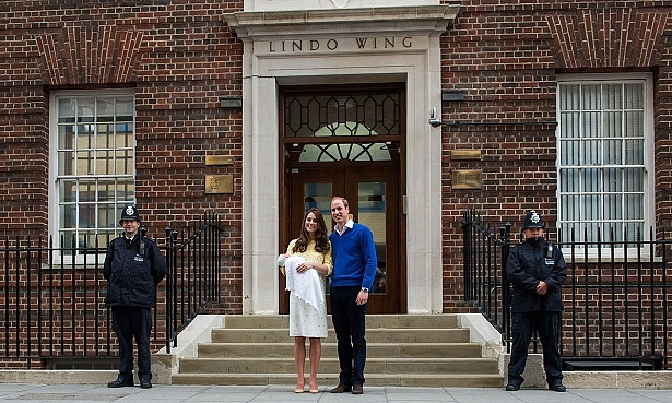 Lindo Wing, Kate Middleton and Prince William royal baby