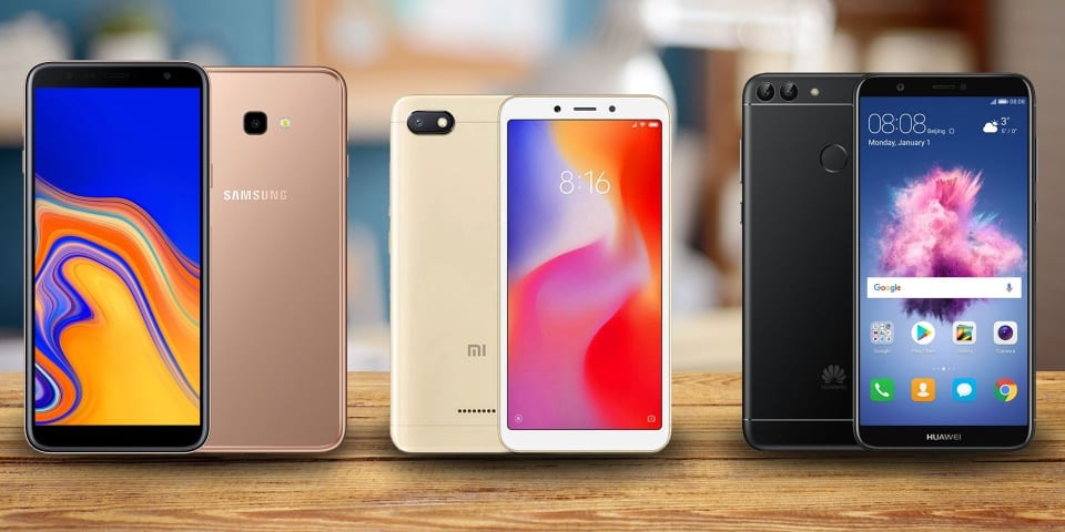Budget phones from Xiaomi, Huawei and Samsung on test