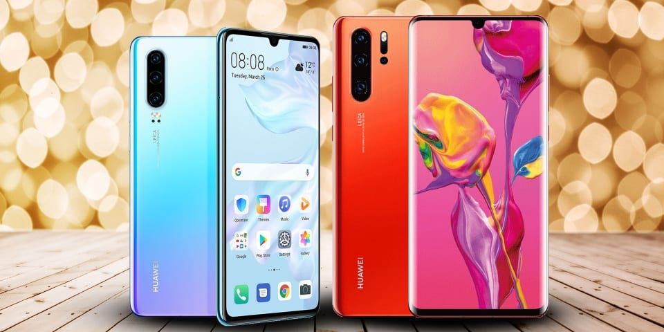 Huawei announces new smartphones P30 and P30 Pro