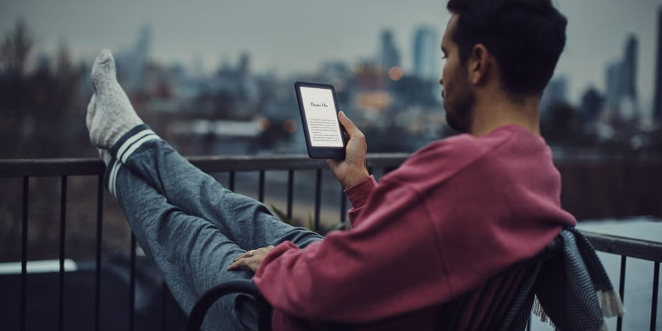 Amazon's new cheap Kindle has a built-in light and is just £70