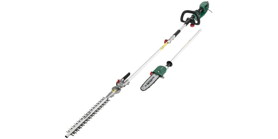 LIdl's Extendable Hedge Trimmer and Pole Pruner