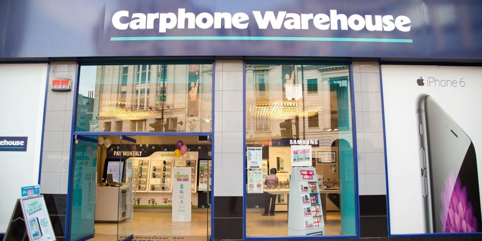 Carphone Warehouse fined £29m in Geek Squad insurance scandal