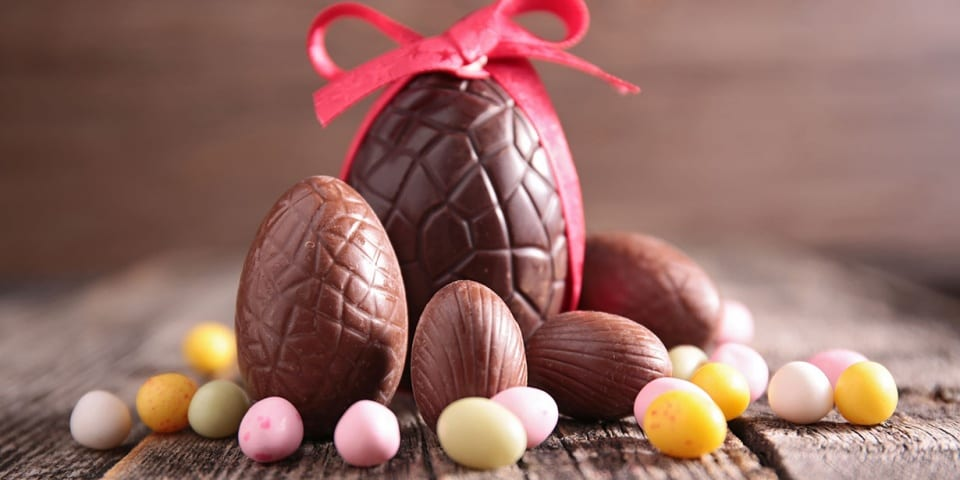 Where can you buy the cheapest Easter eggs?
