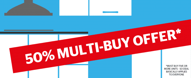 Kitchen multi-buy offer graphic