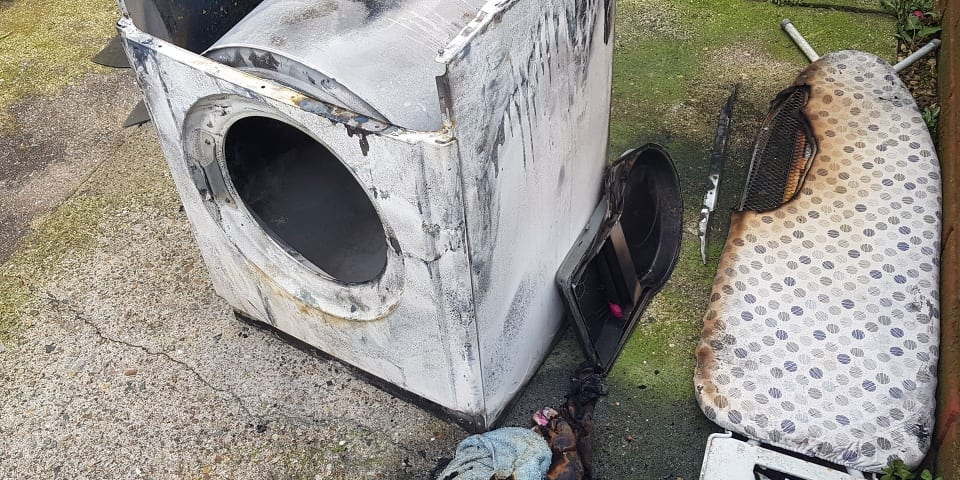 Dryer fire victims slam government's Whirlpool tumble dryer report