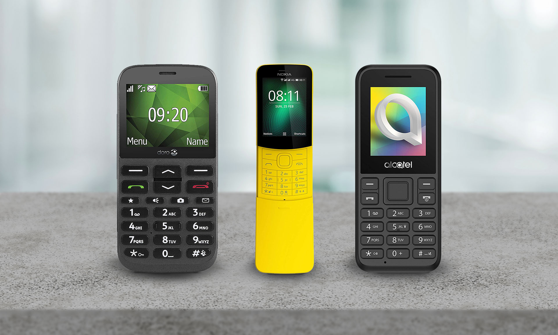 Best New Simple Phones From Just 15 Doro Alcatel And Nokia On Test