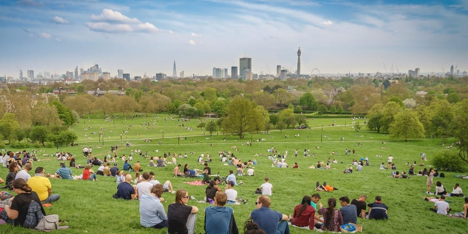 Parks premium: how does green space affect London house prices?
