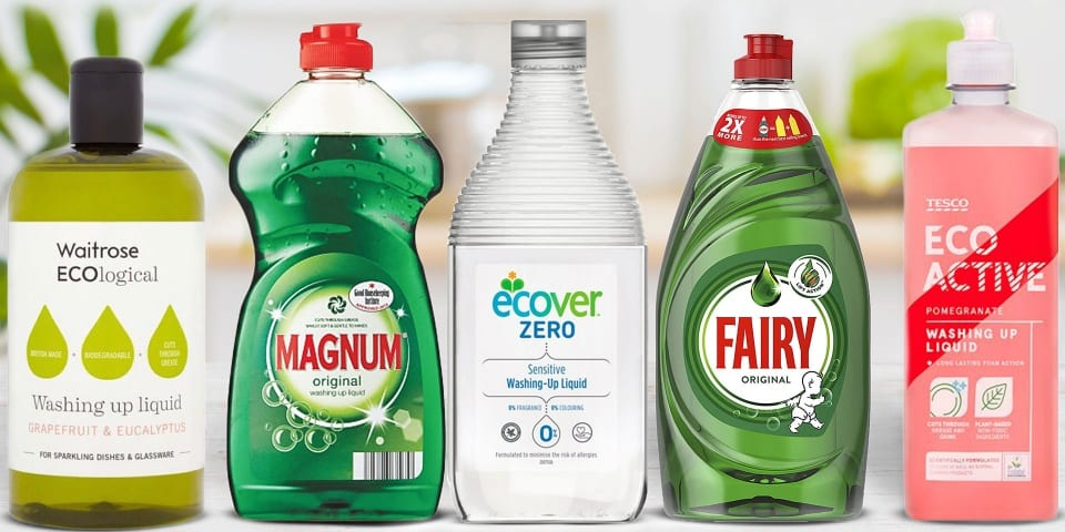 How green really are eco-friendly washing-up liquids?