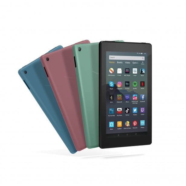 Amazon launches new £50 Fire 7 tablet: big discounts available on the old model