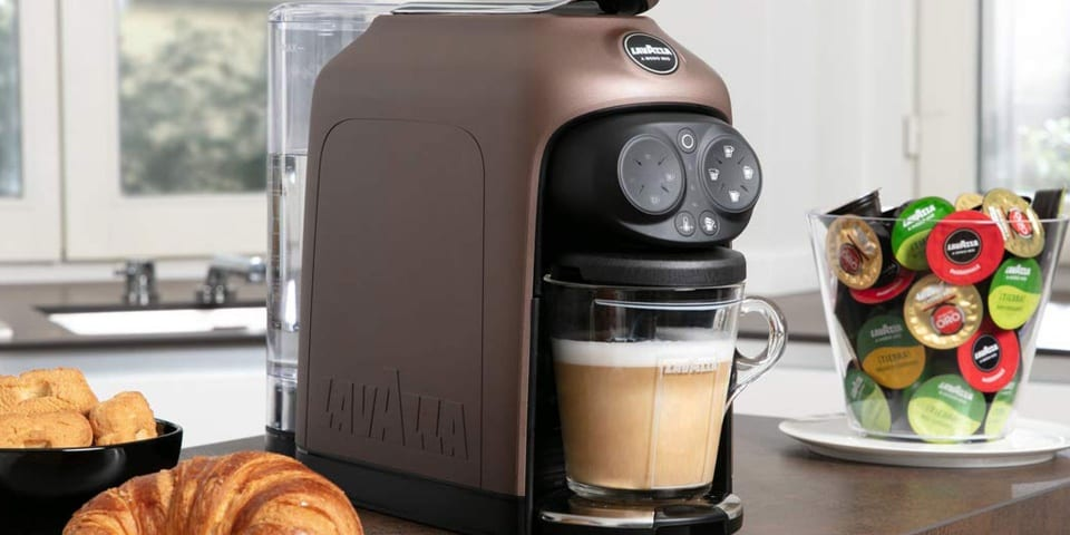 Lavazza Deséa The Coffee Machine That Froths Milk Straight
