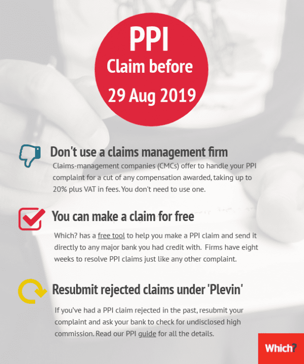 Advice on making a missold PPI claim