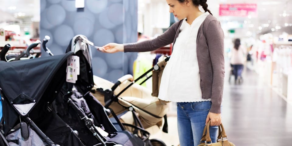 Discover the average spend for a pushchair and a child car seat