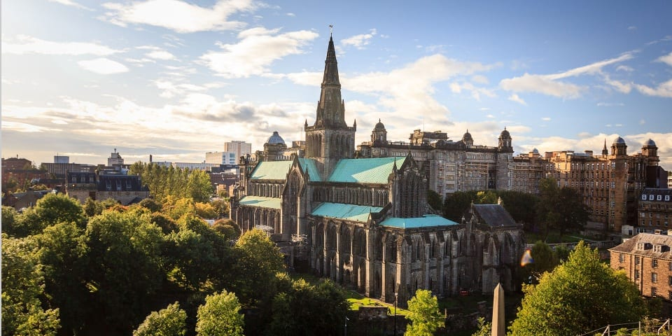 vista de la ciudad de Glasgow