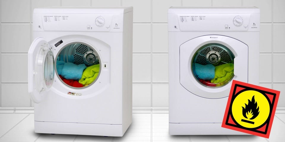 Whirlpool facing recall notice over fire-risk tumble dryers