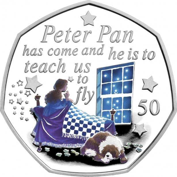 Rare Peter Pan 50p coins launched for charity – Which? News