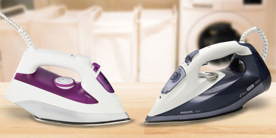 Can this £10 Argos steam iron rival a £90 Philips Azur iron?