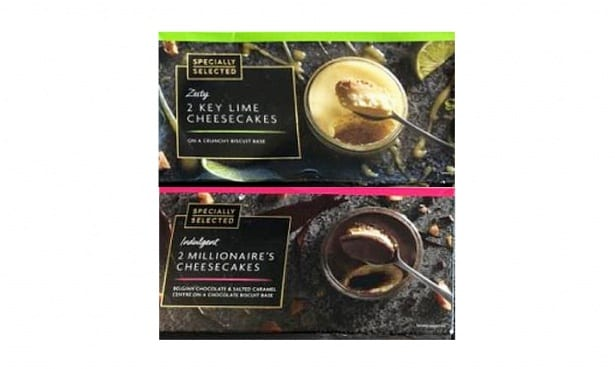 Aldi cheesecakes