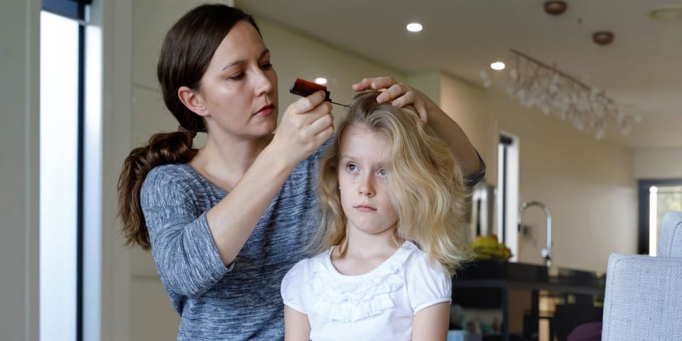 Parents play the blame game when it comes to head lice and nits