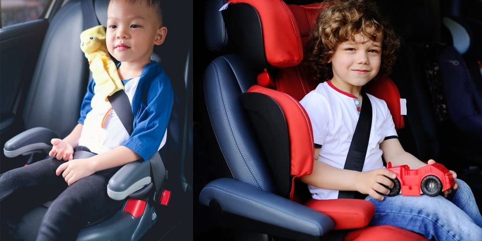 Are parents getting the message about backless booster seats?