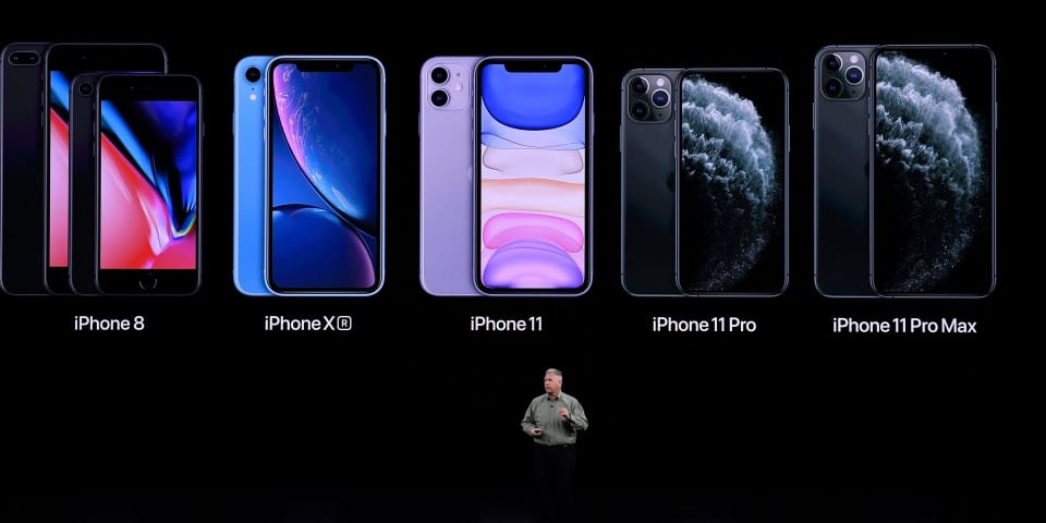 Apple announces iPhone 11 series, plus new Apple Watch and iPad