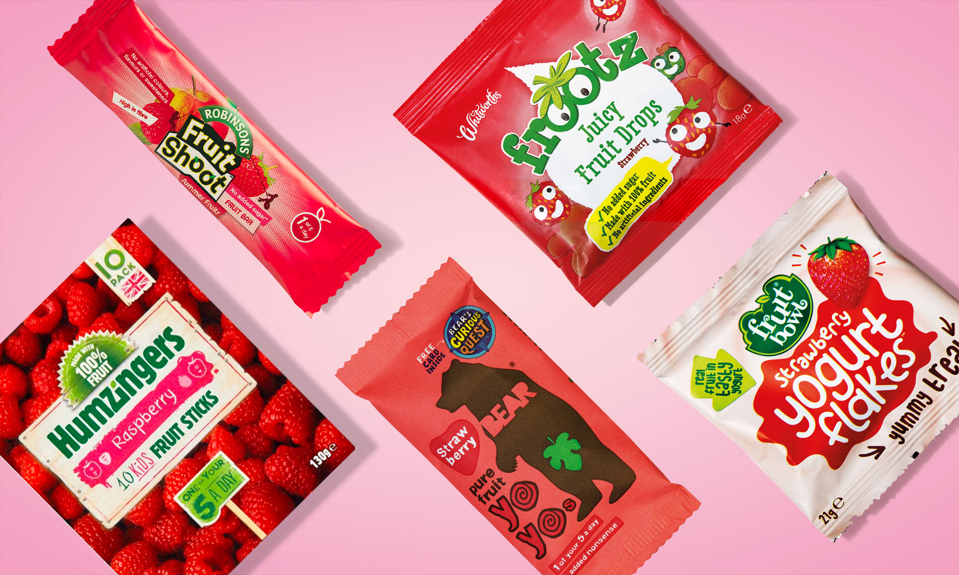 'Healthy' fruit snacks that contain as much sugar as some sweets