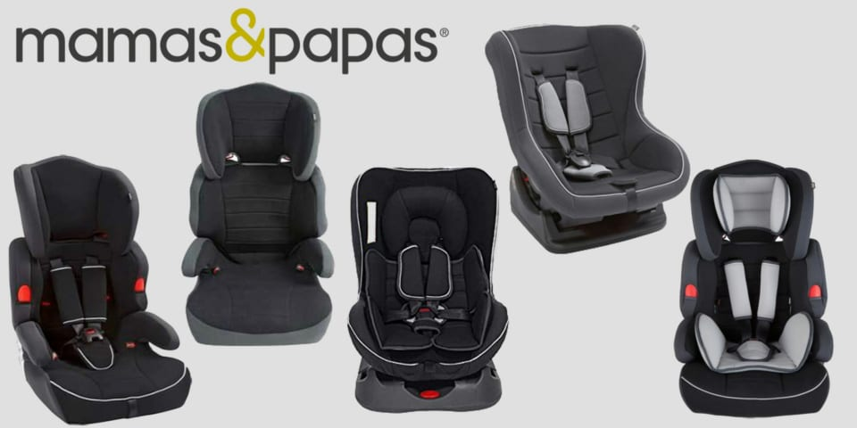 Mamas & Papas fined for selling thousands of dangerous car seats