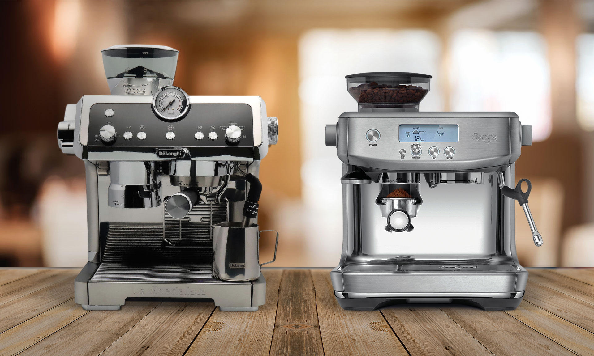 DeLonghi La Specialista vs Sage Barista Pro - which is best ...