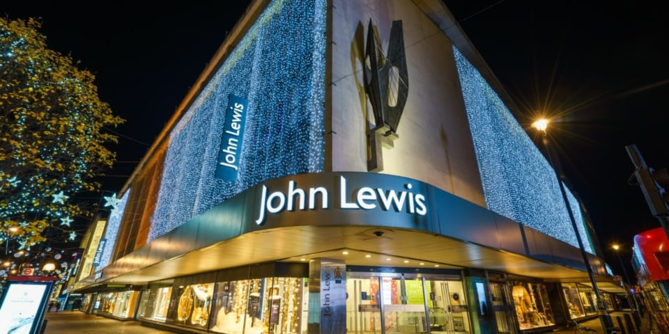 John Lewis credit card offers points boost for Christmas