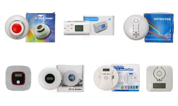 Unbranded Carbon Monoxide Alarm 1