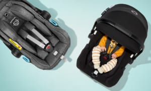We've just crash tested the first i-Size car seats from Bugaboo and Uppababy