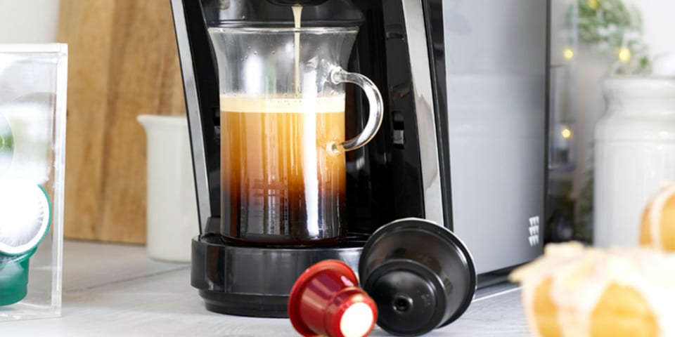 Lakelands 2 In 1 Machine Works With Nespresso And Dolce