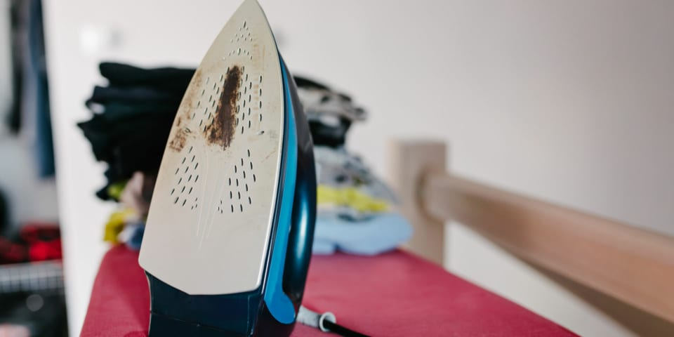 Why you need to clean your iron regularly (yes, really!)