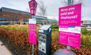Sick Pay: hospital parking charges rise by 10% in one year