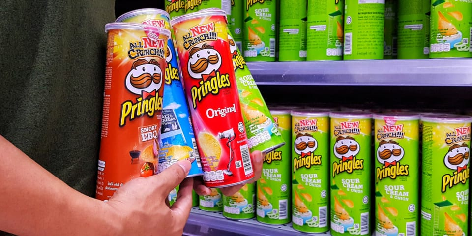 Three things you need to know if you're having Pringles at your Christmas party