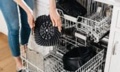 Ninja Health Grill parts go in the dishwasher
