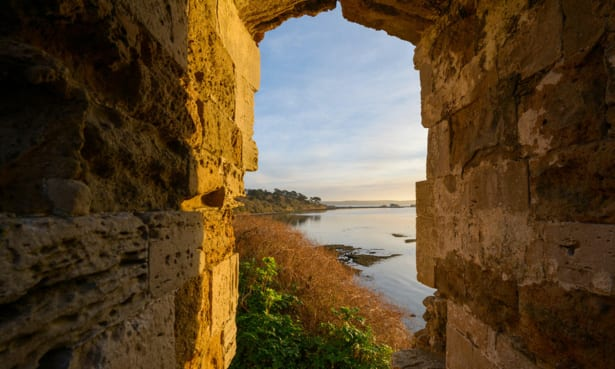 sandsfoot castle rodwell trail dorset