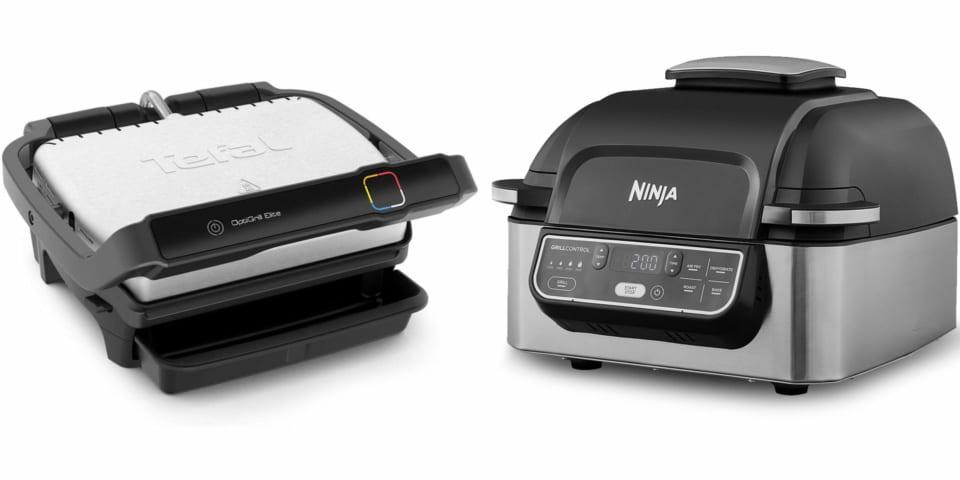 Tefal Optigrill vs Ninja Health Grill: low-fat grills go hi-tech
