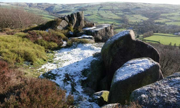 the roaches peak district