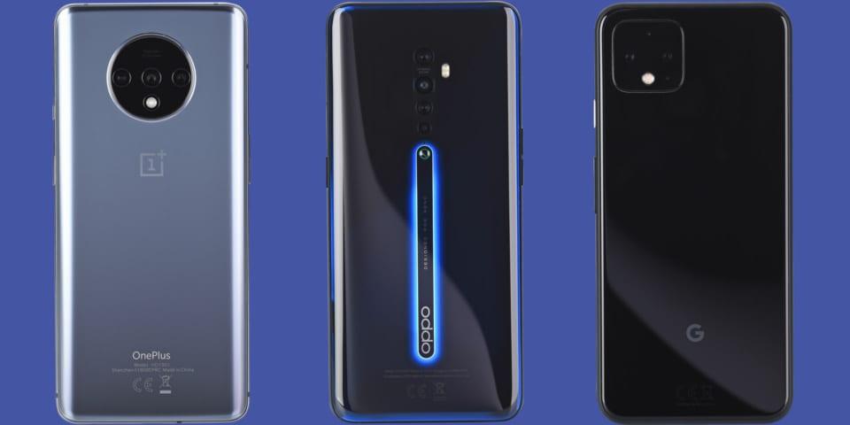OnePlus 7T vs Oppo Reno2 vs Pixel 4: camera phones take aim