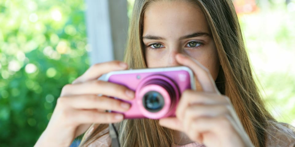 Cameras for kids: popular compacts that make ideal gifts