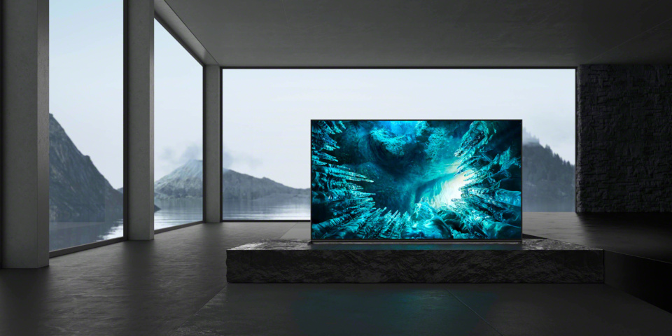 Sony announces 8K TVs and a small screen OLED at CES 2020