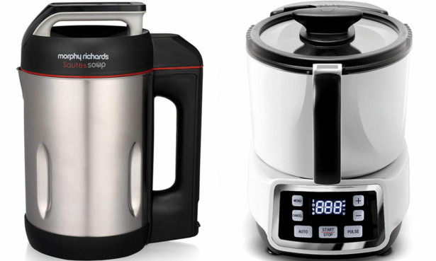 Morphy Richards soup maker versus Lakeland Jug Soup Maker